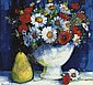 Still life with poppies and daisies , Mary Gallagher, Click for value