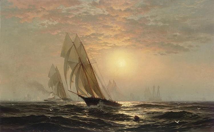 Edward Moran (American, 1829-1901)