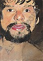 Giant (Study for Once upon a Time), Peter Blake, Click for value