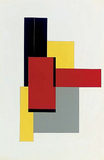 Geometric abstract composition