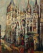 La cathédrale de Rouen, Pierre (1884) Dumont, Click for value