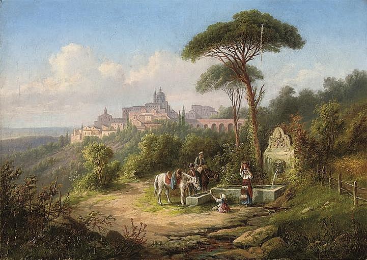Jakob Alt (German, 1789-1872)