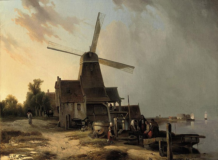 Hubertus van Hove (The Hague 1814-1864 Antwerp)