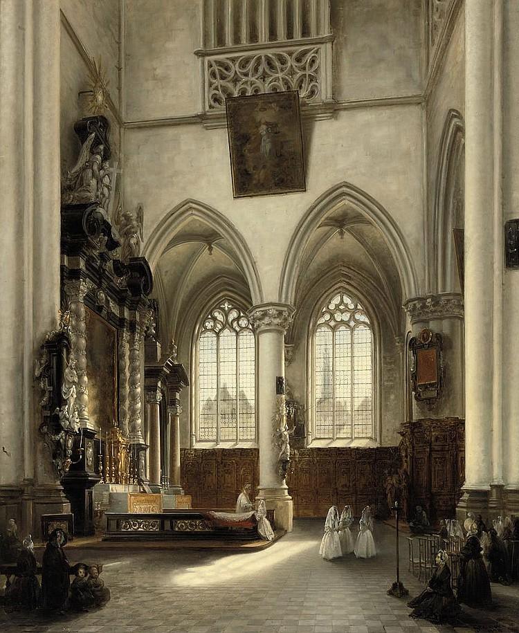 Jules Victor Genisson (Saint-Omer 1805-1860 Bruges)