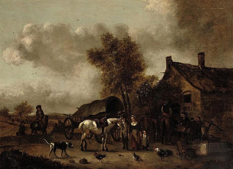 Jan Frans Soolmaker (Antwerp 1635-after 1665 Amsterdam)