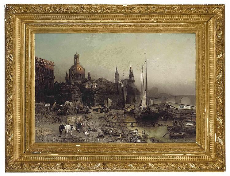 Jacques Matthias Schenker (SWISS, 1854-1927)