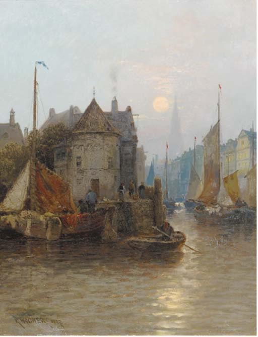 Karl Theo Wagner (Austrian, 1856-1921)
