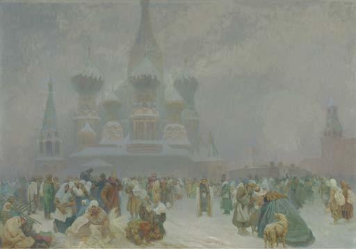Alphonse Mucha (Czechoslovakian, 1860-1939)