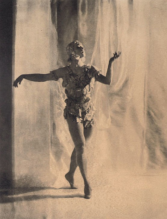 Nijinsky in  Le Spectre de la Rose , Paris, 1911