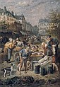 FRANCOIS LOUIS LANFANT DE METZ (FRENCH, 1814-1892) A Busy Marketplace, François Louis Lanfant, Click for value