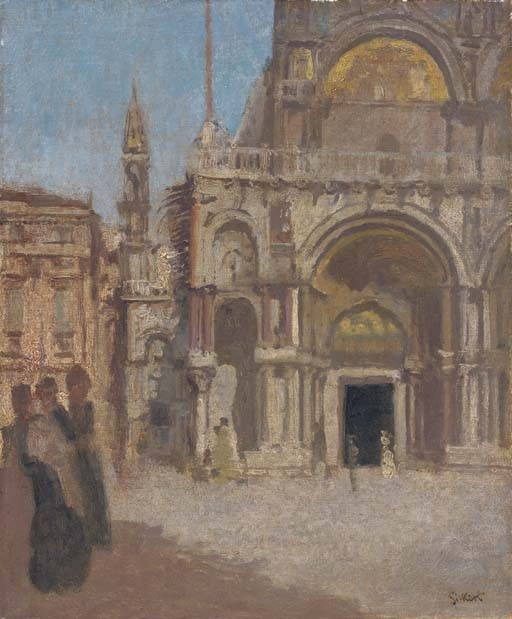 Walter Richard Sickert, A.R.A (1860-1942)