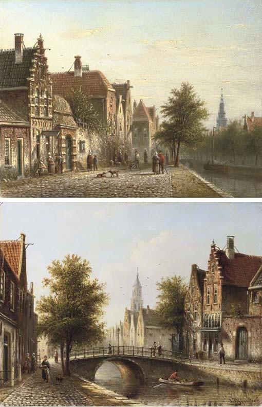 Johannes Franciscus Spohler (Dutch, 1853-1894)