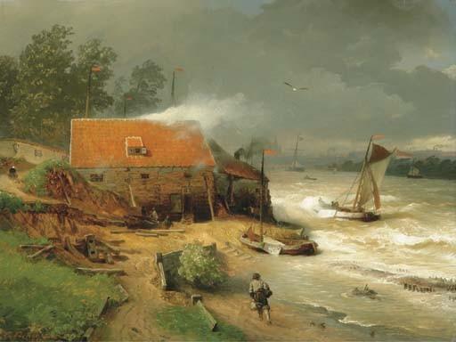 Andreas Achenbach (German, 1815-1910)