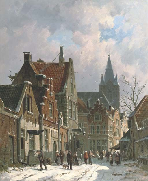 Adrianus Eversen (Dutch, 1818-1897)