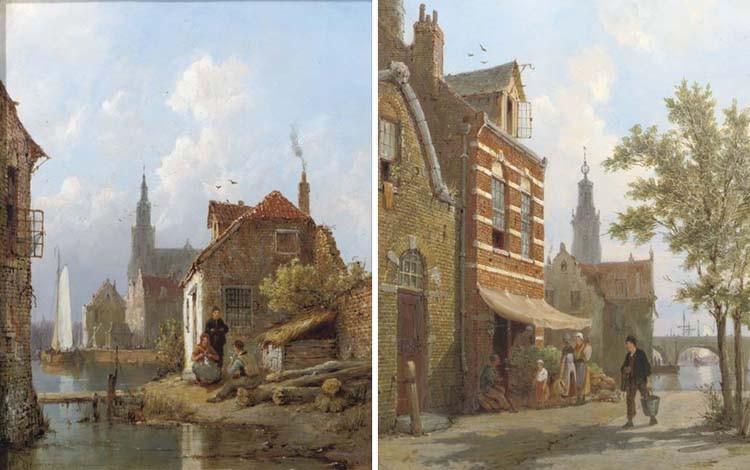 Pieter Cornelis Dommersen (Dutch, 1834-1908)