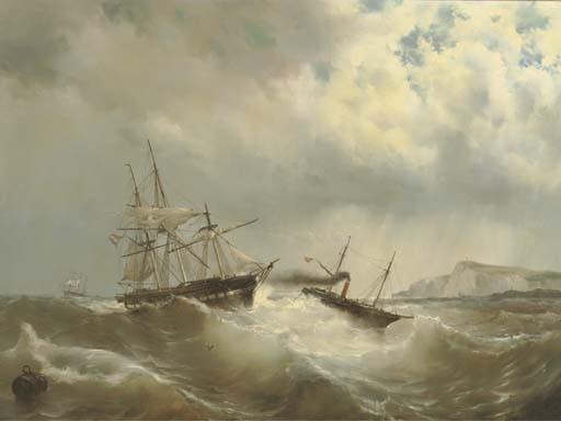 Maurits Frederik Hendrik de Haas (Dutch, 1832-1895)