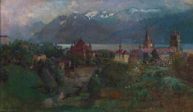 Abraham Hermenjat (Swiss, 1862-1932)