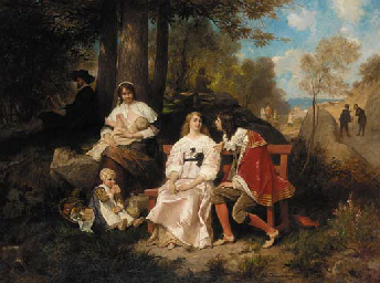 Edouard Jean Conrad Hamman (Belgian, 1819-1888)