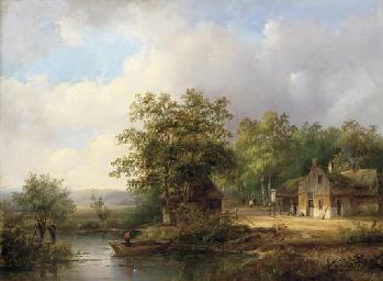 Johannes Petrus van Velzen (Dutch, 1816-1853)