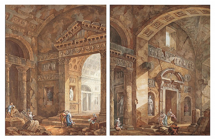 Charles-Louis Clerisseau (Paris 1721-1820 Auteuil)