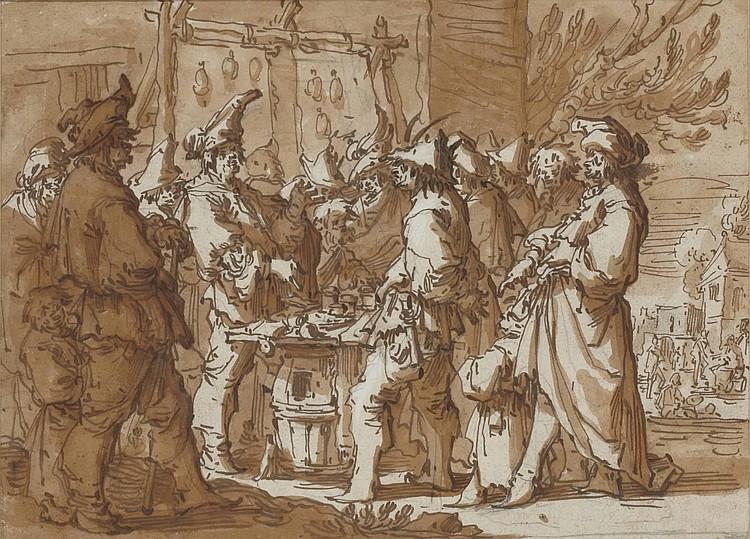 ANDRIES DIRKSZ BOTH (UTRECHT ca.1612-1641 VENISE)