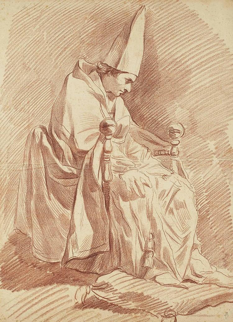 ATTRIBUE A RENE-MICHEL SLODTZ (PARIS 1705-1764)