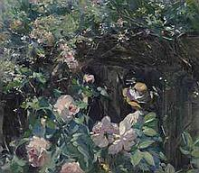 FRANK BRAMLEY, R.A. (1857-1915) At the Door signed and dated 'FRA