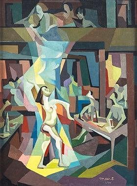 Hafidh Al Droubi (Iraqi, 1941 - 1991)  - The Dancer