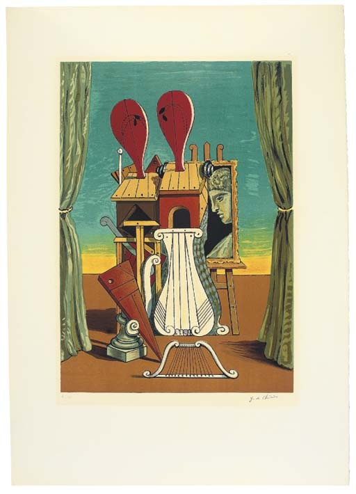 After Giorgio de Chirico (1888 - 1978)