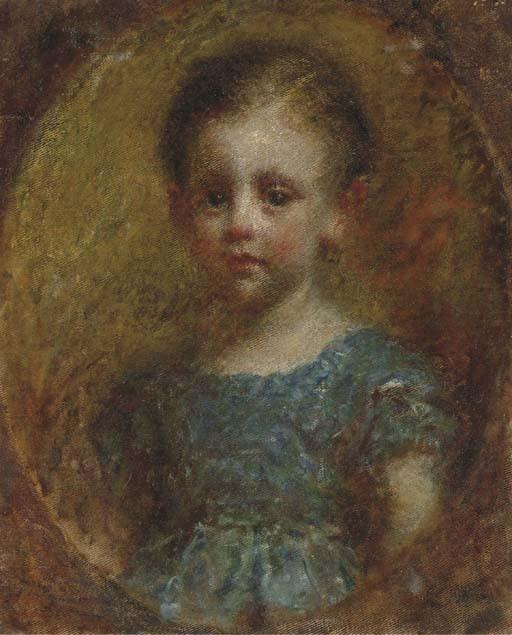 Daniele Ranzoni (Italian, 1843-1889)