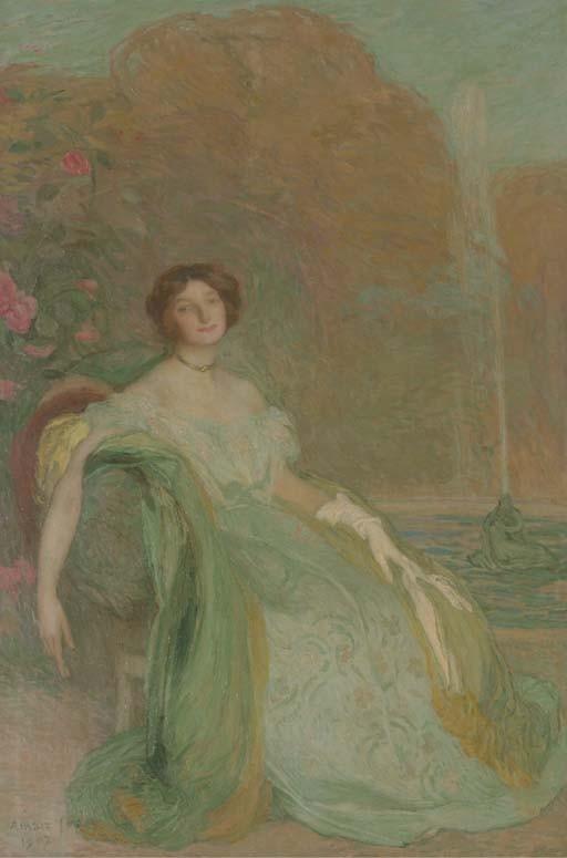 Edmond François Aman-Jean (French, 1860-1936)