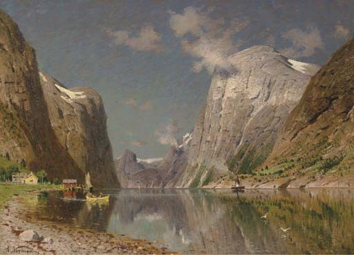 Adelsteen Normann (Norwegian, 1848-1918)