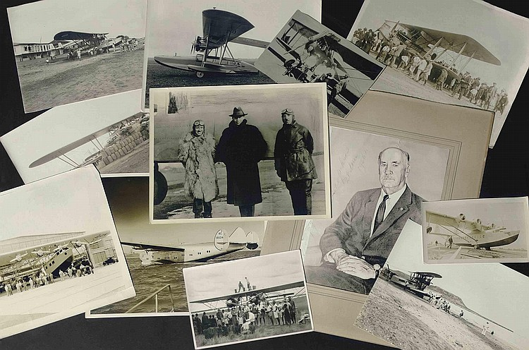 A Group of Photographs Relating to Igor Sikorsky