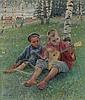 Nikolai Bogdanov-Belsky (1866-1945)                                        , NIKOLAI PETROVICH BOGDANOV- BELSKY, Click for value