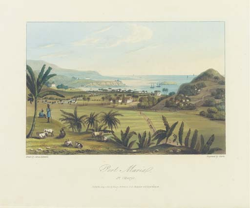 HAKEWILL, James (1778-1843). <I>A Picturesque Tour of the Island of Jamaica</I>. London: Hurst
