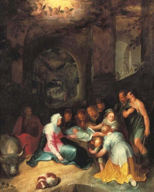 Karel van Mander (Meulebeke 1548-1606 Amsterdam)