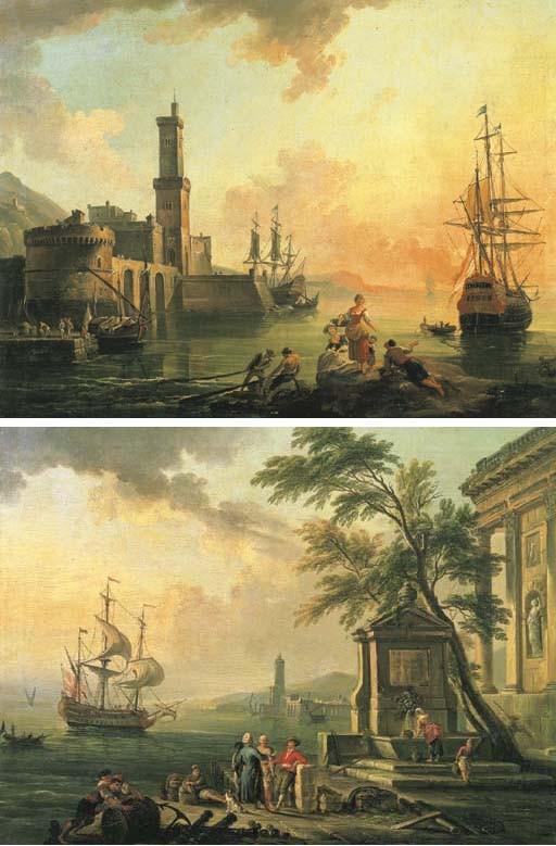 Jean-Baptiste Lallemand (Dijon 1719- c. 1805 Paris)