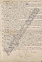 SIGNORINI, Telemaco (1835-1901). Curioso, raro cimelio autografo firmato di uno dei maestri della, Telemaco Signorini, Click for value