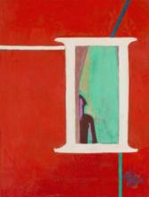 FRANÇOISE GILOT (b. 1921) Window on Another Dimension