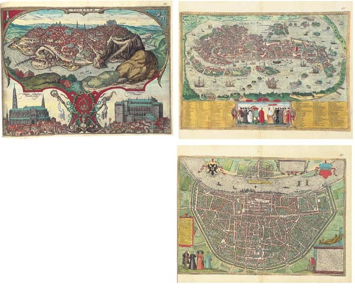 BRAUN, Georg (1541-1622) and Frans HOGENBERG (fl. c. 1540-1590). <I>Civitates orbis terrarum</I>.