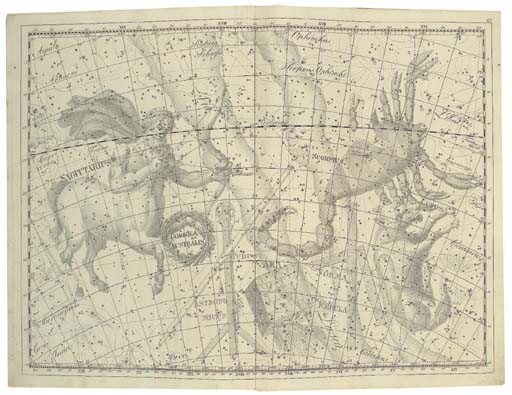 BODE, Johann Elert (1747-1826). <I>Uranographia, sive astrorum descriptio</I>, Berlin: 1801.