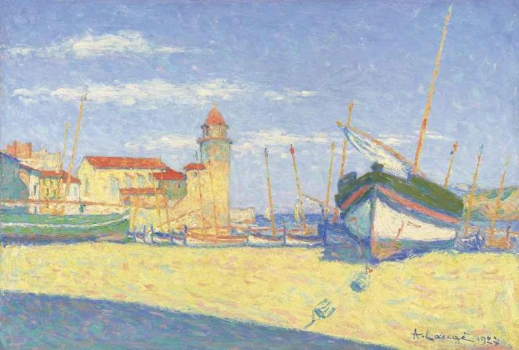 Barque de pêche à Collioure