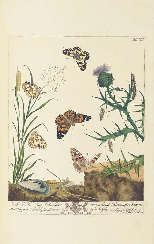 HARRIS, Moses (1730-c.1788). <I>The Aurelian: or, Natural History of English Insects; namely</I>