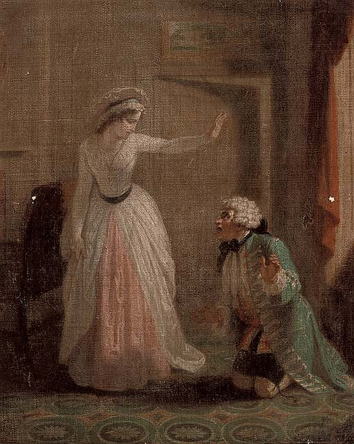 Scene from Samuel Richardson's  Pamela