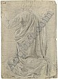 A kneeling figure seen from behind, his arms raised, Jacopo Chimenti, Click for value