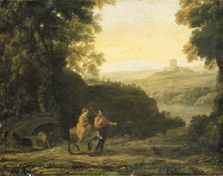 Claude Gell'e, le Lorrain (Chamagne, Lorrain, ?1604/5-1682 Rome)