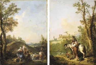 Francesco Zuccarelli, R.A. (Pitigliano, Umbria 1702-1788 Florence)