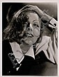 Greta Garbo , Clarence Sinclair Bull, Click for value
