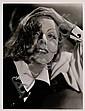 Greta Garbo , Clarence Sinclair Bull, Click for value