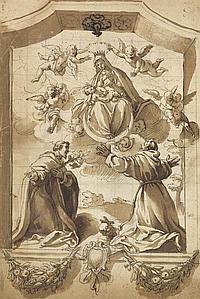 Circle of Jacopo Chimenti, called Jacopo da Empoli (Empoli 1554-1640)